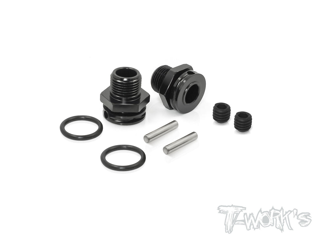 TO-249A-M Dual lock 17mm Truggy Wheel Adapter 9.5mm ( For Mugen  , SWorkz )