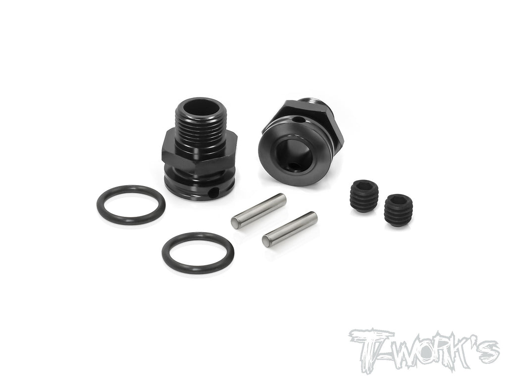TO-249B-M Dual lock 17mm Truggy Wheel Adapter 11.5mm ( For Mugen  , SWorkz )