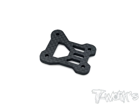 TO-267-MP10E Graphite Center Gearbox Plate   ( For Kyosho MP10E  )