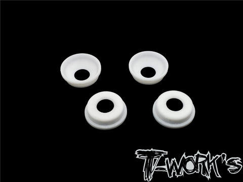 TO-268-MBX Front Upright Adjust Nut Teflon Spacers ( For Mugen MBX8/7R/7) 4pcs.