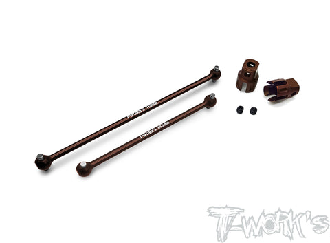 TO-282-RC8 Steel Center Shaft Set ( Team Associated RC8 B3.1/3.2 )