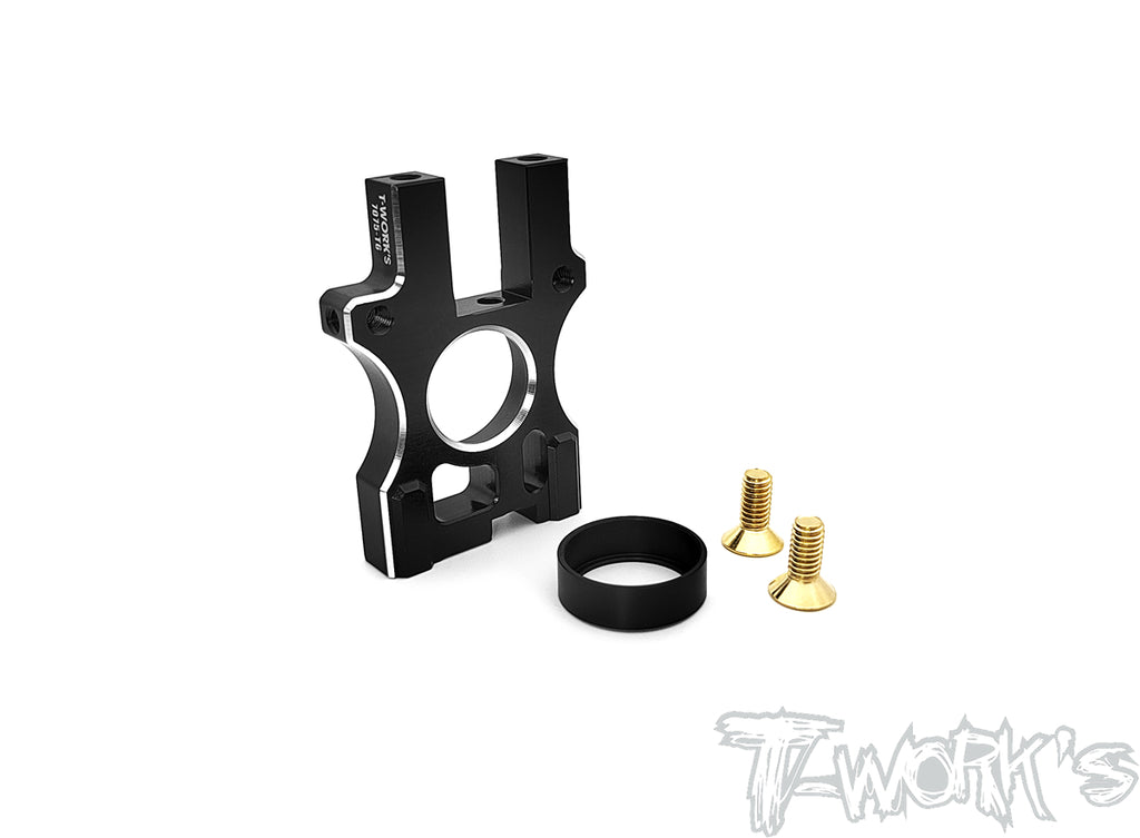 TO-295-MP10E 7075-T6 Alum. Rear Middle Gear Block ( For Kyosho MP10E )