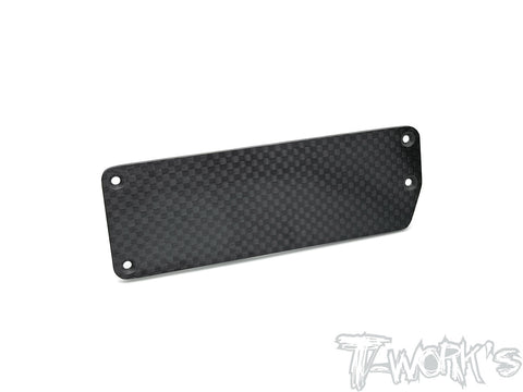 TO-297-B3.2 Graphite Reciver Battery Box Plate ( Team Associated RC8 B3.2 )