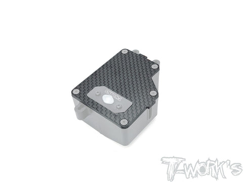 TO-299-B3.2 Graphite Reciver Box Plate With Switch Hole ( Team Associated RC8 B3.2 )