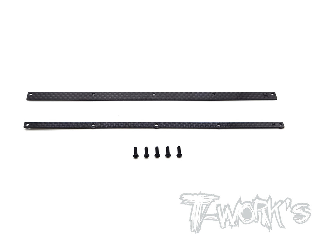 TO-309-HB Graphite 1/8 Buggy Wing Wickerbills Set ( For HB Racing )