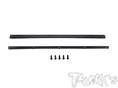 TO-309-S Graphite 1/8 Buggy Wing Wickerbill Set ( For Sworkz & VP Pro )
