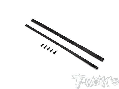 TO-309-TW Graphite 1/8 Buggy Wing Wickerbill ( For T-Work's )