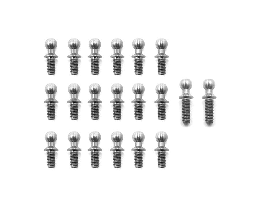 TP-030 64 Titanium Ball End set  For HPI Pro5