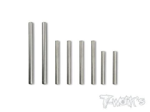 TP-081 64 Titanium Hinge Pin For Team Associated RC10 B6/B6D