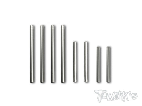 TP-082 64 Titanium Hinge Pin For Team Associated RC10 B64/B64D