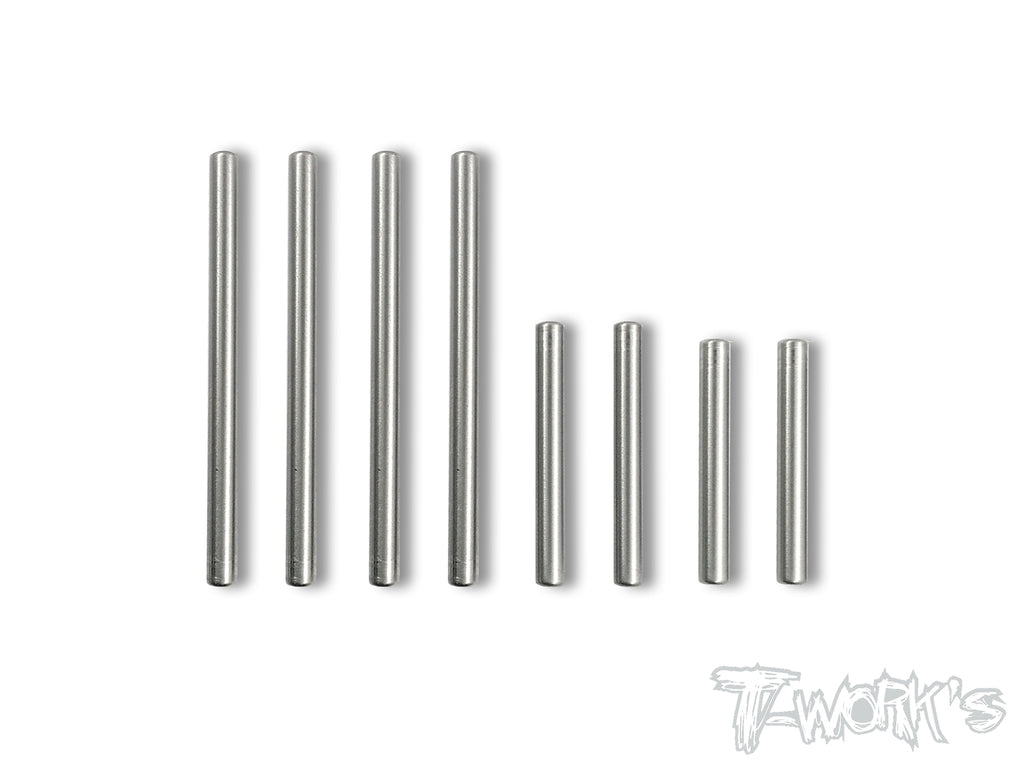 TP-083 64 Titanium Hinge Pin Set For Kyosho ZX6/ZX6.6