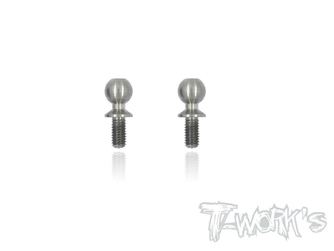 TP-090 64 Titanium Ballstuds ( For Yokomo YZ2/YZ4 5.5mm Ball )