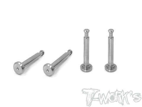 TP-095 64 Titanium Lower Shock Mount Pins ( For Team Associated RC8 B3.1 ) 4pcs.
