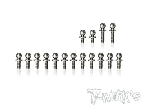 TP-128 64 Titanium Ball End set ( For SWORKZ S14-3 )
