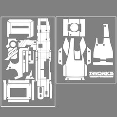 TS-023 3D Graphite Sticker (For KO EX-1 2012) 8 Colors