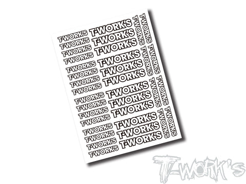 TS-039C T-Work's Team White Decal C