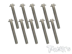 TSS-U 64 Titanium M3 Hex. Socket UFO Head Screw