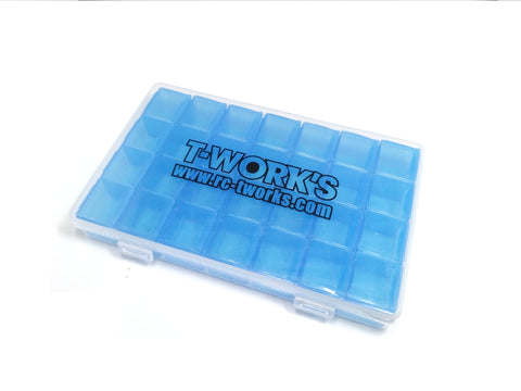 TT-027 28 Case Hardware Storage Boxes ( 17.5x11x2.5cm)