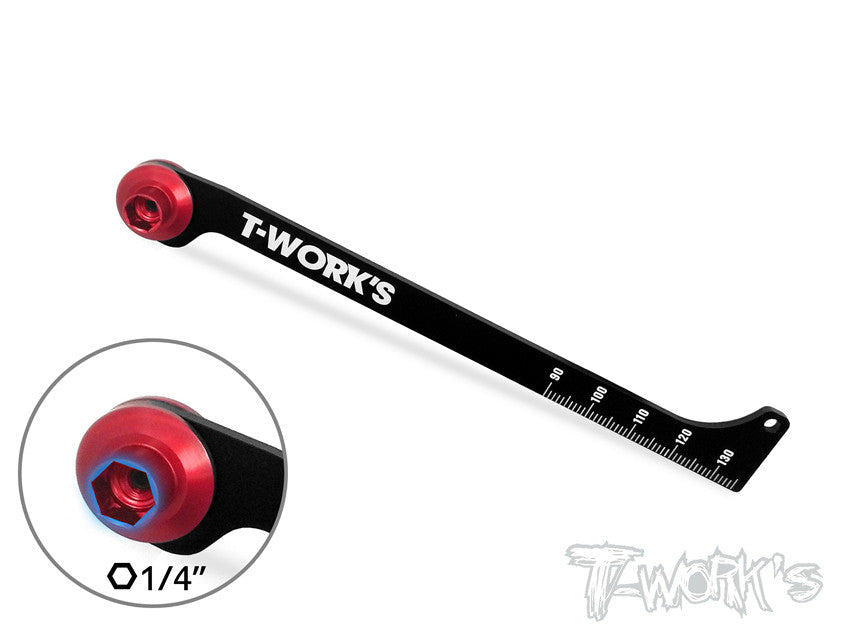 TT-035-TR Shock Stroke and Rebound Gauge ( For TLR 8ight/2.0/3.0/4.0)