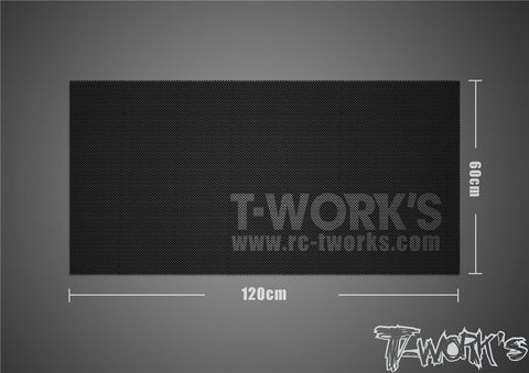 TT-048-C	T-Work's Light Weight Pit Mat 120 x 60 cm ( 260g. )