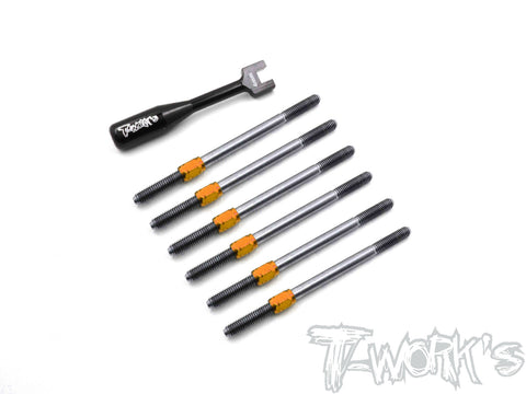 TB-173H Hybrid Titanium Turnbuckle Set  ( Xray XB2C 2019)