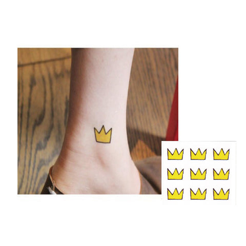 Little crown Temporary Tattoo