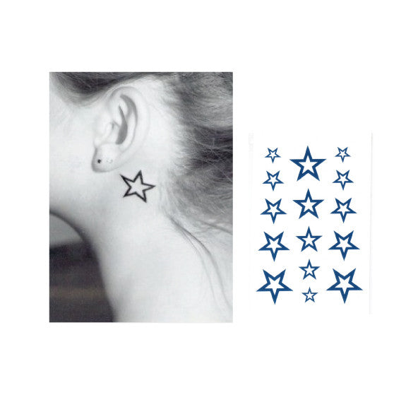 Star Temporary tattoo