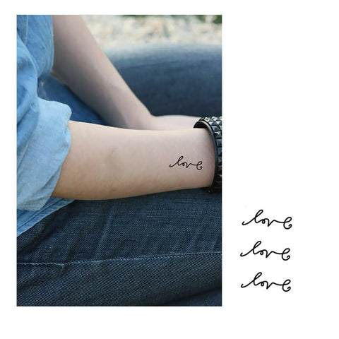 Love quote tattoo