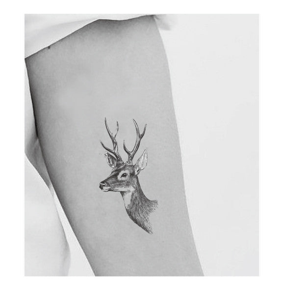 Deer head tat