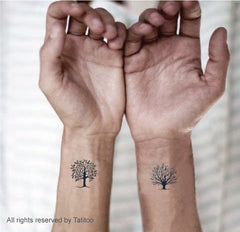 Tree, Grow Tree, temporary Tattoo