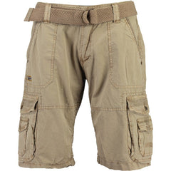PLAVO MEN SHORTS BEIGE