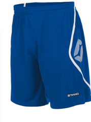 Stanno - Pisa Shorts White/Royal - [product_collection], Pulssport.se