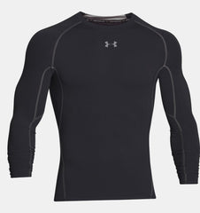 UA HG ARMOUR LS BLACK