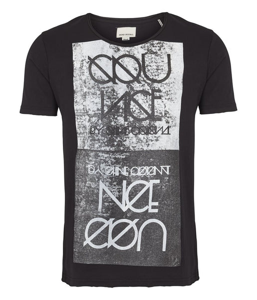 Shine - RAW EDGE PRINT TEE - [product_collection], Pulssport.se