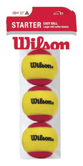Wilson - STARTER RED TBALL 3-PACK - [product_collection], Pulssport.se