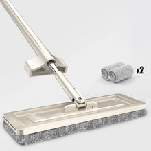 Load image into Gallery viewer, YOREDE Magic Self-Cleaning Squeeze Mop Microfiber Spin And Go Flat Mop For Washing Floor Home Cleaning Tool Bathroom Accessories