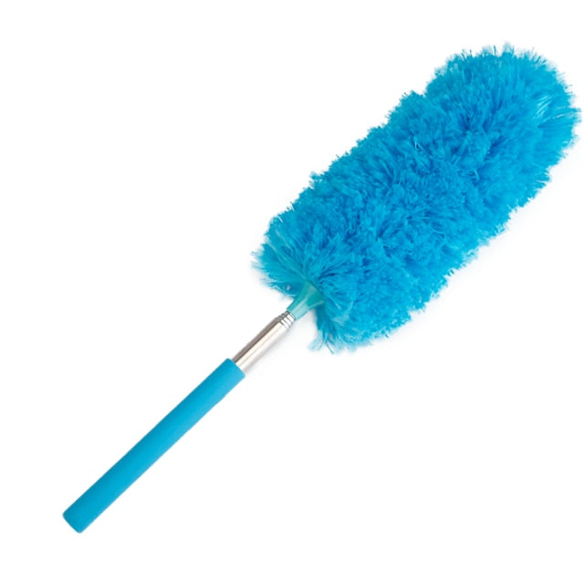 Microfiber dust cleaning brush. Feather Home Dust Cleaner Car Furniture Household Cleaning Brush