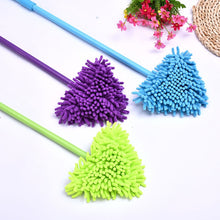 Load image into Gallery viewer, Triangle head 180 degree bendable cleaning mop Home Wall Ceiling Floor Cleaning Cleaning Tools