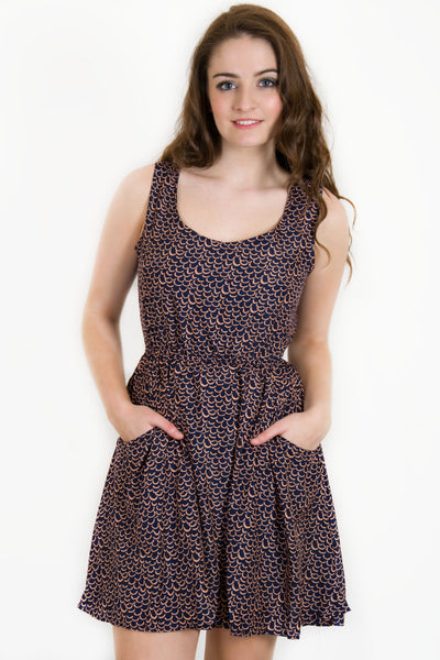 Snow Traffic Clothing Skater Dress