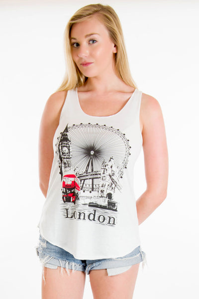 London Eye Vest Top