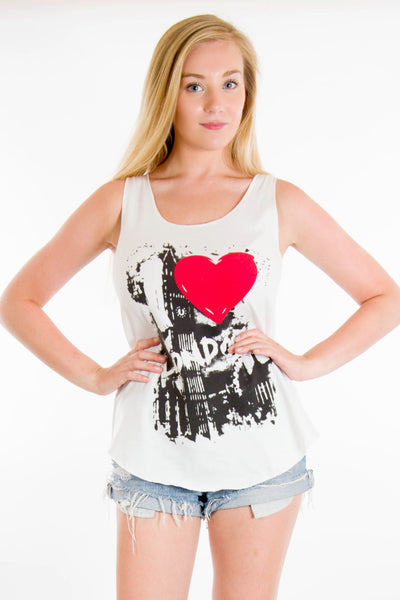 Heart London Vest Top