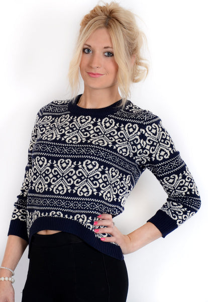 Vintage Jumper - Blue