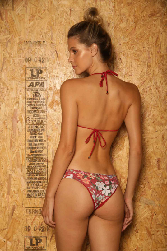 <transcy>Noronha doll panties Floral Red</transcy>