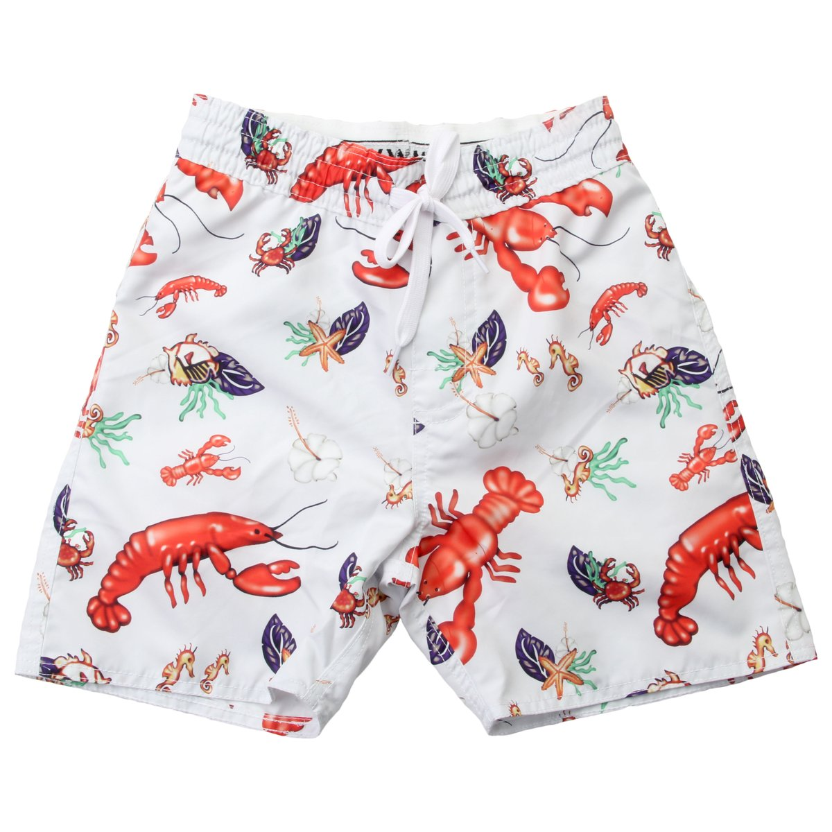 Wes and Willy Boys Swim Trunks