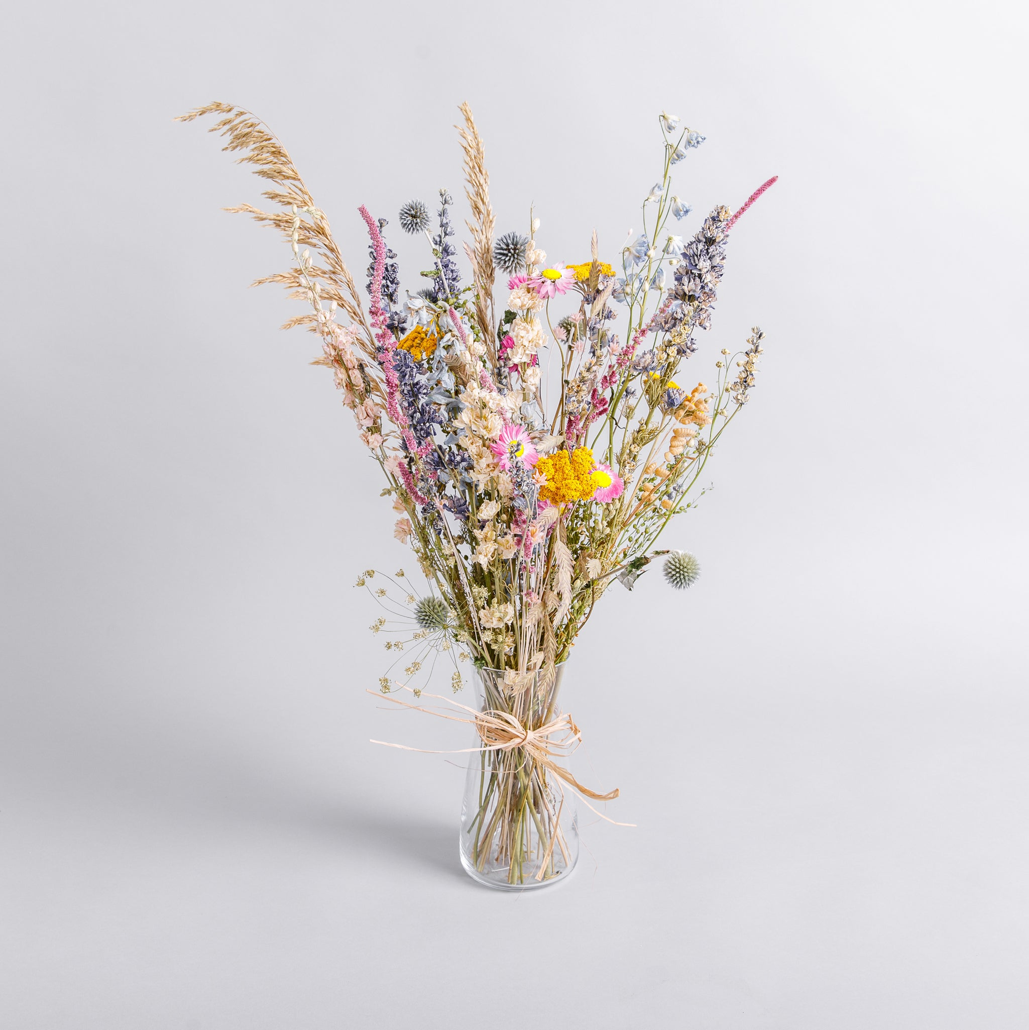 Mixed Colour Everlasting Posy