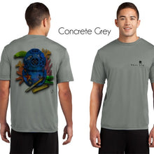 Load image into Gallery viewer, #3 : Blue Dive Helmet Men's Performance Poly SPF30 Short Sleeve Tee