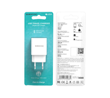 Caricabatterie USB single port charger 2.1A MAX
