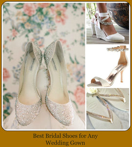 Best Bridal Shoes for Any Wedding Gown