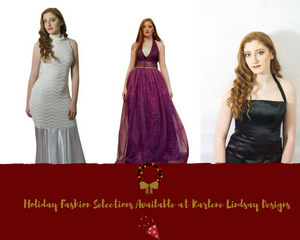 Holiday Fashion Selections Available at Karlene Lindsay Designs