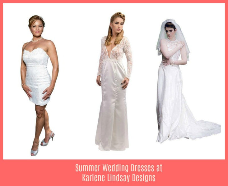 Summer Wedding Dresses at Karlene Lindsay Designs